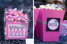 Bump Smitten: Baby Shower Idea: Pink-O-Ween
