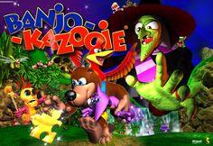 Banjo Kazooie. Nintendo 64 I LOVED this game!!!!