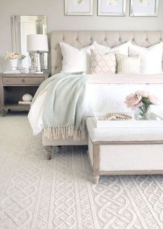bedroom decor for couples \ bedroom decor ; bedroom decor for couples ; bedroom decor for small rooms ; bedroom decor ideas for women ; bedroom decor ideas for couples Romantic Bedroom Decor, Home Decor Bedroom, Modern Bedroom, Bedroom Rustic, Bedroom Black, Bedroom Themes, Master Bedroom Furniture Ideas, White Bedroom Decor, Neutral Bedrooms