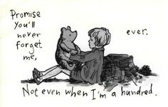 Pooh and Christopher Robin ♥