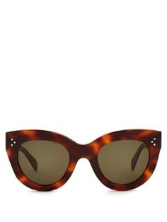 Cat-eye acetate sunglasses | Céline Sunglasses | MATCHESFASHION.COM US