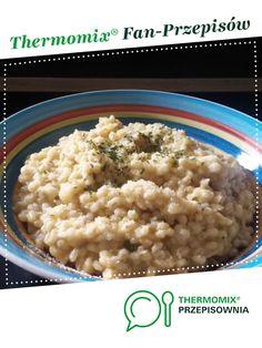Kaszotto z parmezanem jest to przepis stworzony przez użytkownika babku. Ten przepis na Thermomix<sup>®</sup> znajdziesz w kategorii Inne dania główne na www.przepisownia.pl, społeczności Thermomix<sup>®</sup>.