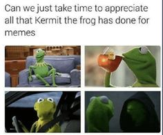 24 Dank Memes Kermit - Koala Funny - These Dank memes kermit are specially collected for Dank lovers. So miss these Dank memes kermit Because these Dank memes kermit are so funny and hilarious. The post 24 Dank Memes Kermit appeared first on Gag Dad. Funny Kermit Memes, Stupid Funny Memes, Funny Relatable Memes, The Funny, Funny Stuff, Random Stuff, Muppet Meme, Funny Things, Dank Memes Funny