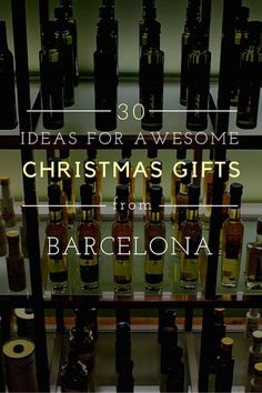 Looking for the perfect Christmas gifts from Barcelona? We have 30 ideas for you, so that you come home to your loved ones with something they'll love! Budget Travel, Travel Tips, Travel 2017, Spanish Culture, Barcelona Travel, Places In Europe, Perfect Christmas Gifts, Spain Travel, Seville