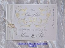 Gästebuch Silber- oder Goldene Hochzeit SGH 95