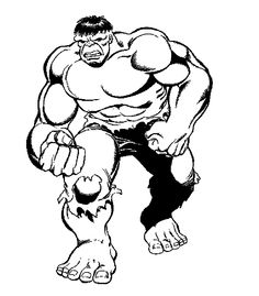 Hulk And Spiderman Coloring Pages