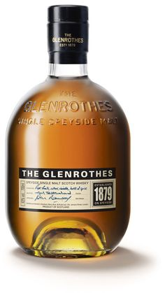 Everything about the Glenrothes is beautiful: the drink, the year, and the bottle.
