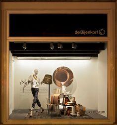 De Bijenkorf x Rijksmuseum windows by StudioXAG Netherlands