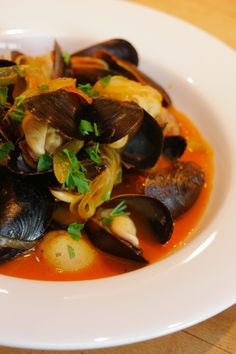 The perfect summer dish...  #clams #potatoes #tomatoes #fromthesea #table128 #boonville #boonvillehotel