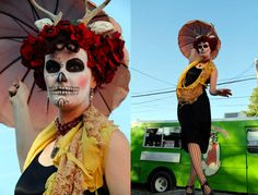 Day of the Dead makeup yumminess