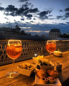 Enjoy the sights of Milan at one of these spectacular rooftop terraces while surrounded by delicious Italian food and drinks.