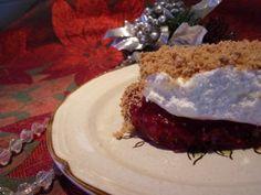Red Raspberry Dessert