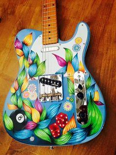 Flower guitar