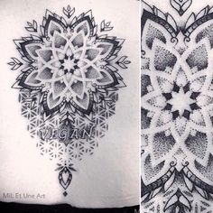2017 trend Tattoo Trends - Working on a sacred geometry mandala tattoo design for Jared ! Geometric Mandala Tattoo, Mandala Dots, Flower Mandala, Geometry Tattoo, Hand Tattoos, Finger Tattoos, Sleeve Tattoos, Mandalas Painting, Mandalas Drawing