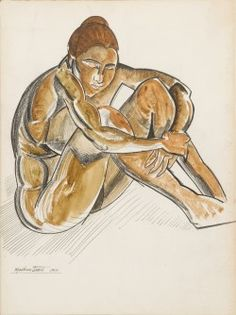 Discover artworks, explore venues and meet artists. Art UK is the online home for every public collection in the UK. Featuring artworks by over artists. Wyndham Lewis, Art Uk, British Artists, Princess Zelda, Pastel, Nude, Fictional Characters, Female, Sun