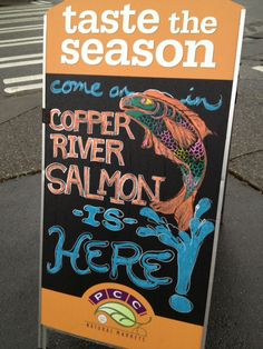 Greenlake PCC Photo by Melissa Trainer Copper River Salmon, Rivers, Lakes, Shopping, River