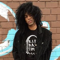 Long Natural Hairstyle For Black Guys
