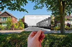 De Wilhelminastraat Moerkapelle toen en nu 2015