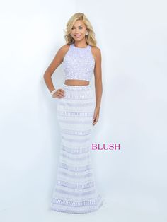 Blush Prom 11067 Lavendar/Off White