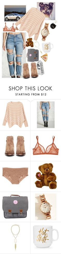 """Maybe I'm not really drunk, maybe I'm really good at faking"" by lovesyddiebear ❤ liked on Polyvore featuring MANGO, Forever 21, H by Hudson, Eres, Victoria's Secret, Wet Seal, Kendra Scott and Kate Spade"