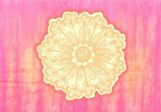 pink is s000 in.  Art Print
