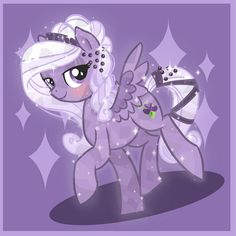 Commission: Crystal Pony by *ParfyWarfy on deviantART