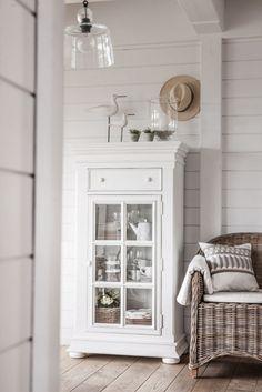 Vaisselier blanc Harmonie par Interior's