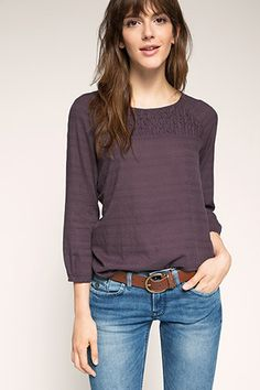 EDC / blouse in 100% cotton