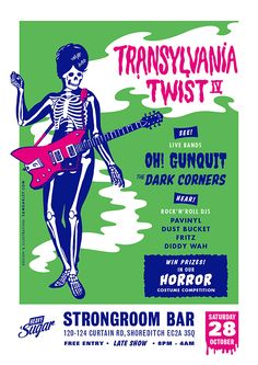 Horror Costume, Free Entry, Live Band, Rockn Roll, Competition, Flyers, Memes, Sugar, Ruffles