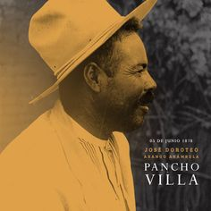 #UnDíaComoHoy  pero de 1878 nació José Doroteo Arango Arámbula mejor conocido como #PanchoVilla #Efemérides