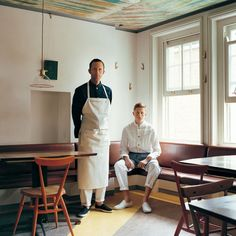 HAKUÏ is the lineup of working equipments exclusively designed by Akira Onozuka and produced by Seven Uniform Co. Waiter Uniform, Rural Studio, Restaurant Uniforms, Cafe Interior, Work Fashion, Chef Jackets, Normcore, Female, Coat