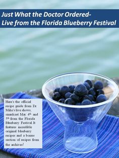 get your free blueberry recipe e-book!