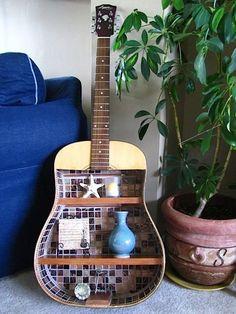 Новая жизнь старых вещей.Гитара. Обсуждение на LiveInternet - Российский Сервис Онлайн-Дневников