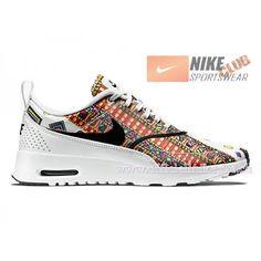 Nike Wmns Air Max Thea Liberty 2015 Chaussures Nike LIB Sportswear Pas Cher Pour Femme Blanc/Noir 746082-100-Boutique de Chaussure Nike France,Livraison Gratuite!Nike Air Max pas cher,Homme & Femme en Linge. 88,99�