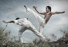 Best Action Photography – Frozen Moments of Movement - Capoeira by Ferli