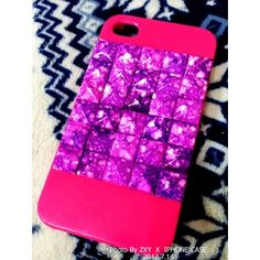 Shinning Candy Fantastic Cube Back Case for Iphone 5