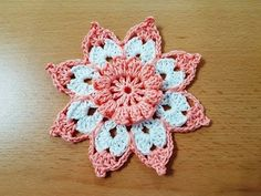 How To Crochet Beautiful Motif - Tutorial - Page 2 of 2 - ilove-crochet