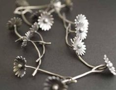 Necklace | Rebecca Fargher. 'Daily Chain'. Silver - Get the most out of buying your jewelry! Find out how at http://jewelrytipsnow.com/how-to-make-the-most-out-of-buying-your-jewelry/