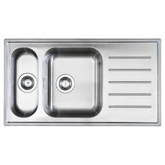 BOHOLMEN 1 1/2 bowl inset sink with drainer - IKEA 35 3/8 inches wide $142.98 Available online