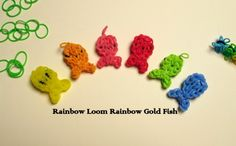Rainbow loom rubber band figures