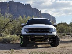 White Ford Raptor