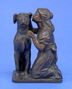 Valentin, Max 1875 Fürstenwalde/Spree - 1931 Berlin Das Geheimnis. Bronze. Signiert. H 12 cm — Skulpturen, Möbel, Kunsthandwerk