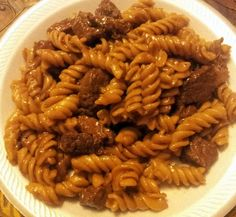 """Steak and Noodles! """"it is so good... simple and one pot!!!"""