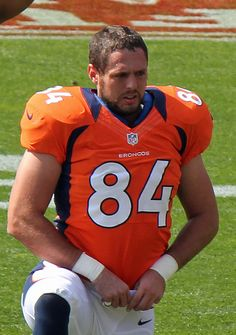 Jacob Tamme. Current Denver Broncos Tight End. Former Kentucky Wildcat... And why I will be cheering for the Broncos on Sunday!