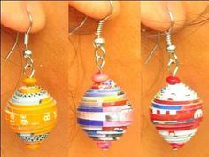 paper bead crafts   Paper Beads