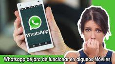 Whatsapp ya no funcionará en estos Móviles – Mira si no está el tuyo!   LEE EL POST COMPLETO AQUI: http://movilesbaratos.callcellphones.com/noticias/whatsapp-ya-no-funcionara-estos-moviles.htm.  La aplicación Whatsapp acaba de anunciar que ya no funcionara en algunas plataformas y su compatibilidad en ciertos móviles Smartphone que de un tiempo para acá no les están dando ... LEE MAS AQUI:  http://movilesbaratos.callcellphones.com/noticias/whatsapp-ya-no-funcionara-estos-moviles.htm