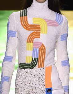 patternprints journal: PRINTS, PATTERNS, TEXTURES AND TEXTILE SURFACES FROM LONDON FASHION WEEK (WOMENSWEAR F/W 2015-16) / Peter Pilotto