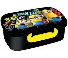 Minions Lunch box zwart