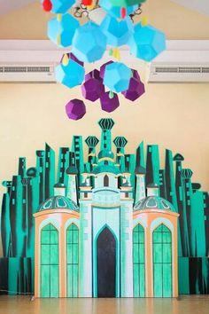 Emerald City back drop