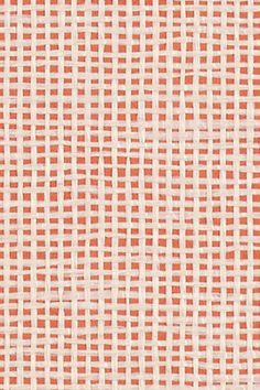 Close up of the #ModCloth #Wallpaper in #Coral.  Contact 13 Design Lane Interiors for purchase information.